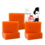 3 Packs of Kojie San Skin Lightening Kojic Acid Soap (2 Bars Per Pack) - 135g
