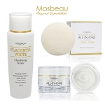 Mosbeau Ultimate Facial Whitening  Set - 100g Soap, 150ml Toner and 70g Facial cream.