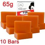 5 Pack of Kojie San Skin Lightening Kojic Acid Soap ( 2 Bars per pack) 65g - SUPER SAVINGS