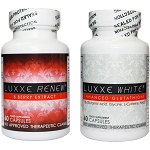 NEW Authentic Luxxe White Enhanced Glutathione & Luxxe Renew - 8 Berry Extract Set