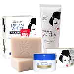 Kojie San Total Dream White Treatment Set - Soap, Lotion, Cream